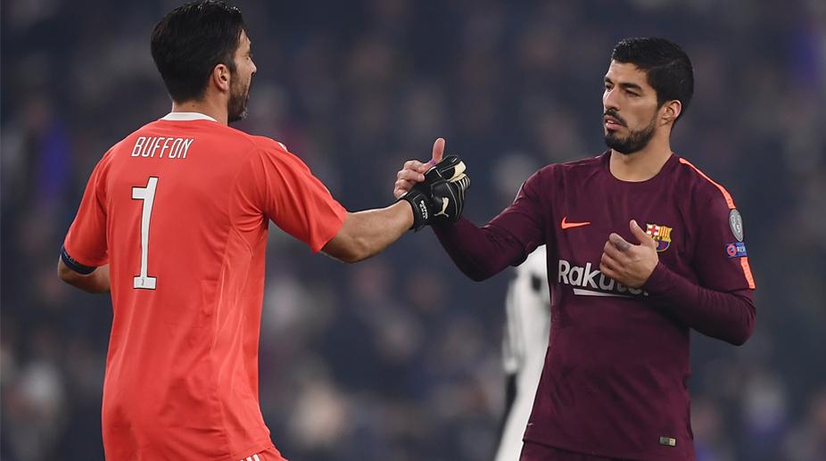 Luis Suarez, Gianluigi Buffon, UEFA Champions League, Juventus vs Barcelona