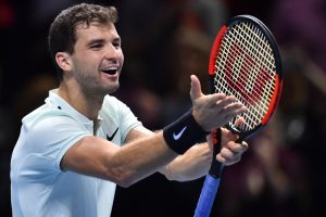 ATP World Tour Finals: Grigor Dimitrov marches into last four