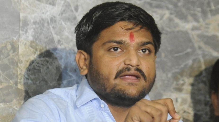 Patidar leader, Hardik Patel