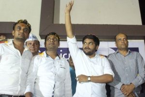 Hardik Patel backs Congress after agreement on Patidar quota