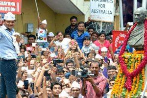 Permission denied, Hardik goes ahead with Rajkot rally