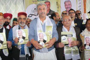 Congress rebel focuses on Shimla's development in manifesto