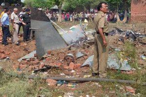 IAF trainer aircraft crashes near Hyderabad, woman pilot safe