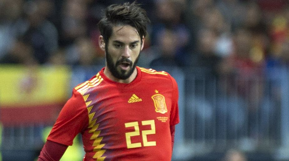 Spain's Isco to miss pre-World Cup friendly