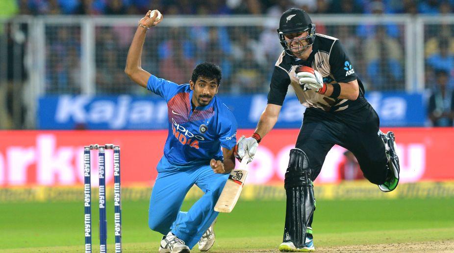 Indian bowler Jasprit Bumrah