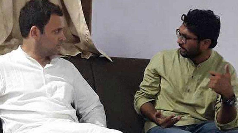 Jignesh Mevani, Rahul Gandhi, Congress, Gujarat elections 2017