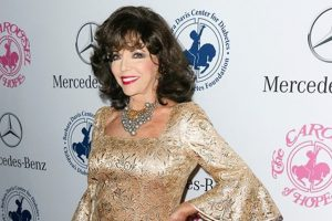 Joan Collins slams son for calling her ex 'paedophile'