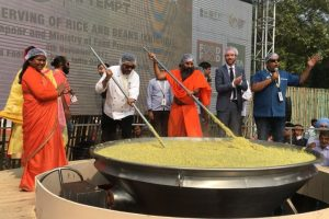 Brand India 'khichdi' enters Guinness World Records