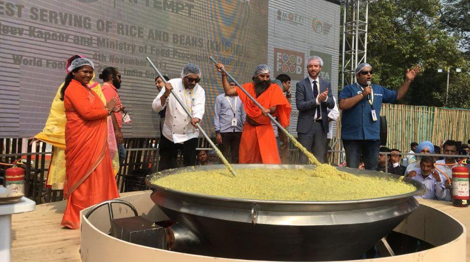 Khichdi, World Food India, Guinness World Records