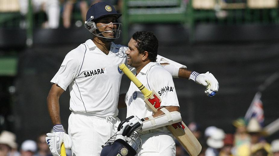 VVS Laxman (L) with Sachin Tendulkar (Photo: Twitter)
