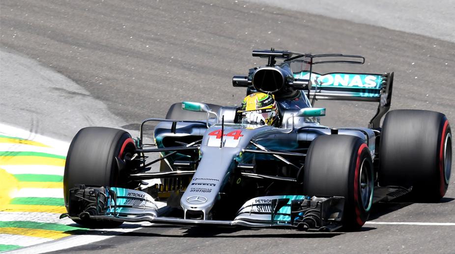 Lewis Hamilton, Brazilian GP, F1