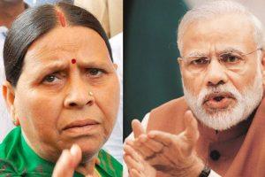 Many in Bihar ready to slit Modi's throat, chop his hands: Rabri Devi