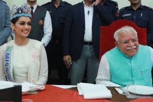 Manushi Chhillar to be ambassador of 'Anaemia Free Haryana' drive