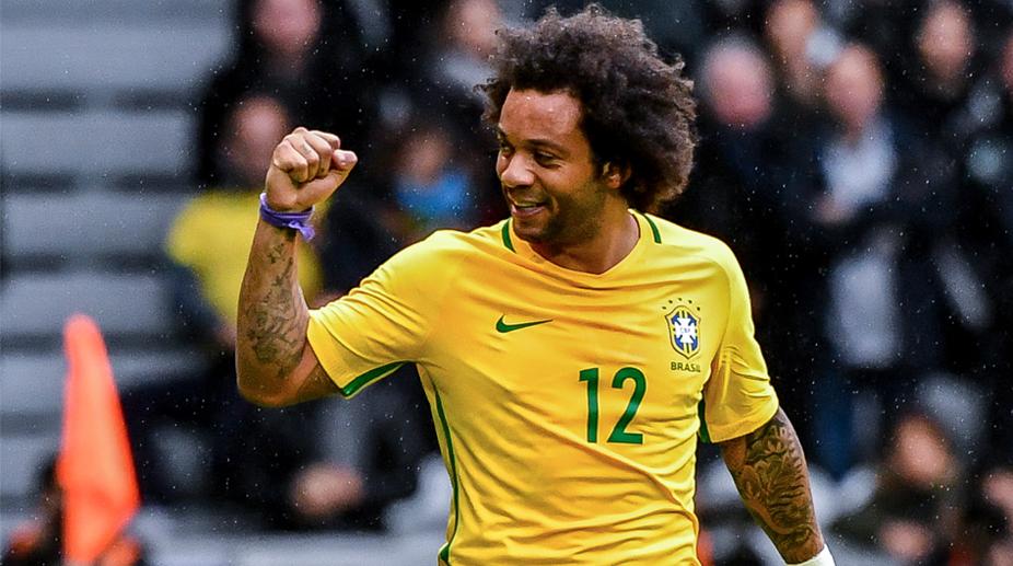 Marcelo, Brazil vs Japan,