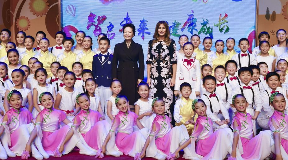 Beijing, Peng Liyuan, China, Melania Trump, US