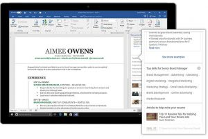Microsoft Word gets LinkedIn's Resume Assistant feature