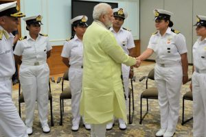 Indian Navy's all-women sailing team crosses Cape Horn, PM congratulated