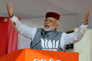 PM Narendra Modi credits Himachal election victory to development