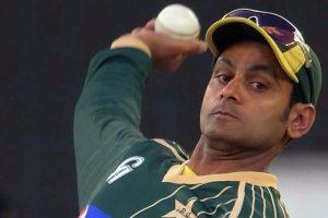 Muhammad Hafeez undergoes bowling action test in England