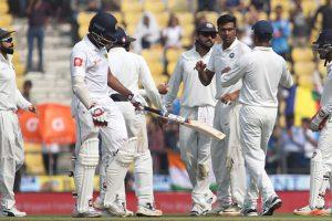Nagpur Test match: India defeat Sri Lanka by an innings, 239 runs