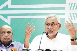 Nitish's JD-U is real party, entitled to use 'Arrow' symbol