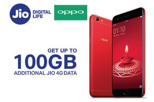Oppo partners with Reliance Jio to offer up to 100GB additional Jio 4G data