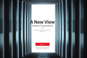 OnePlus 5T set to launch on November 16 in New York