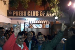 Gautam Lahiri elected as Press Club of India president