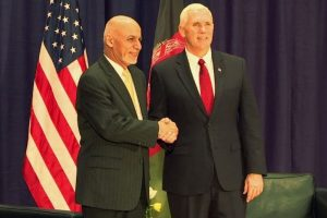 Mike Pence & Ashraf Ghani discuss security situation in Afghanistan