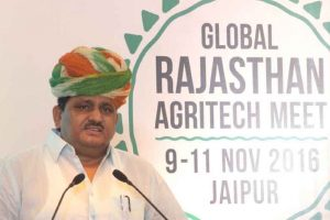 Investment of Rs 488 cr pledged at agri summit in Udaipur
