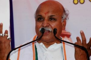 Togadia alleges conspiracy against him from 'higher up' in BJP