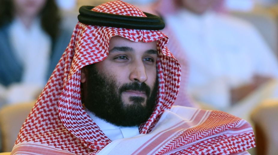 Saudi Crown Prince Arrives at White House to Meet with Trump