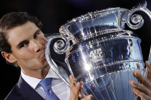 Rafael Nadal presented ATP World No.1 award
