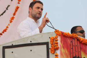 We worship Lord Shiva but don't use faith for political mileage: Rahul