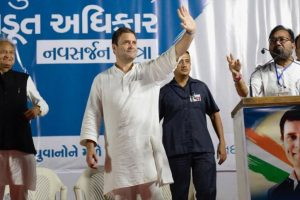 Rahul Gandhi to file nomination for top Congress post today