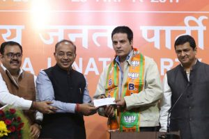 Inspired by PM Modi, actor Rahul Roy joins BJP