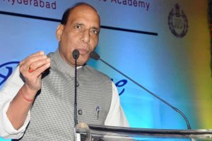 Rajnath Singh assures all possible help to J-K to deal with floods
