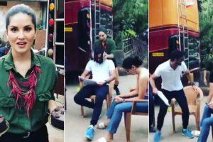 Video: Cake for snake, Sunny Leone's 'sweet revenge' for prank