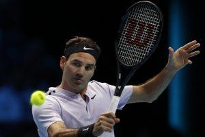Roger Federer beats Jack Sock at ATP Finals opener