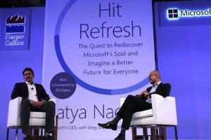 I learnt leadership values on cricket pitch, Satya Nadella tells Kumble