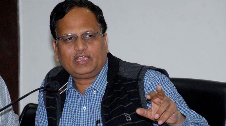 Satyendar Jain, Delhi Health Minister