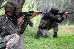 Security forces kill three militants in J-K, soldier martyred