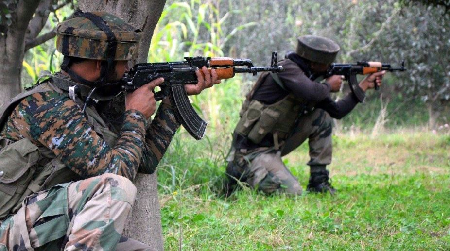 Shopian encounter, civilian killed, crossfire, gunfight, Security forces, militants, militant commander,Saddam Paddar