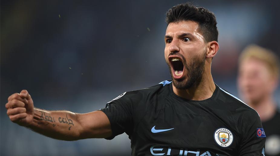 Sergio Aguero, Manchester City F.C., Premier League, UEFA Champions League