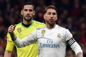Real Madrid confirm Sergio Ramos broken nose