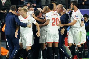 UCL: Liverpool ship 3 second-half goals in Sevilla draw