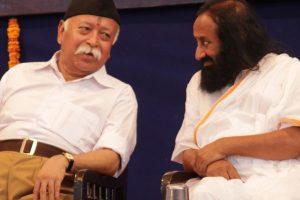 Ayodhya dispute: Sri Sri Ravi Shankar to meet RSS chief Mohan Bhagwat