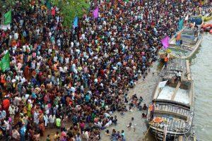 3 die in stampede at Simaria Ghat in Bihar's Begusarai