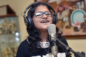 Dubai based Indian girl trying to sing songs in 85 languages for Guinness