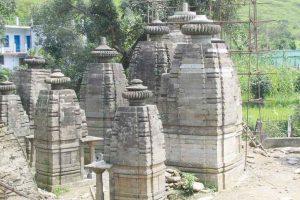 Tilting Almora Shiva temples restored